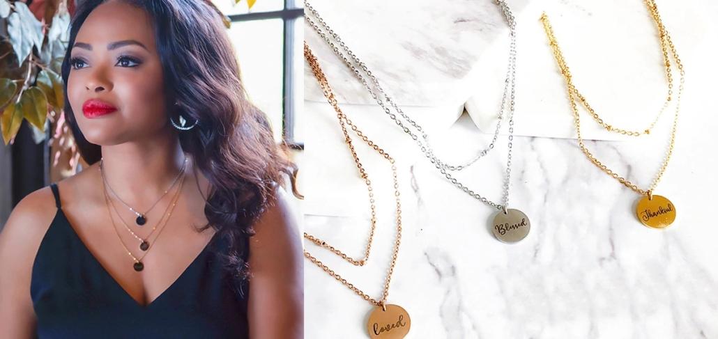 Misayo House Jewelry Inspirational Necklaces