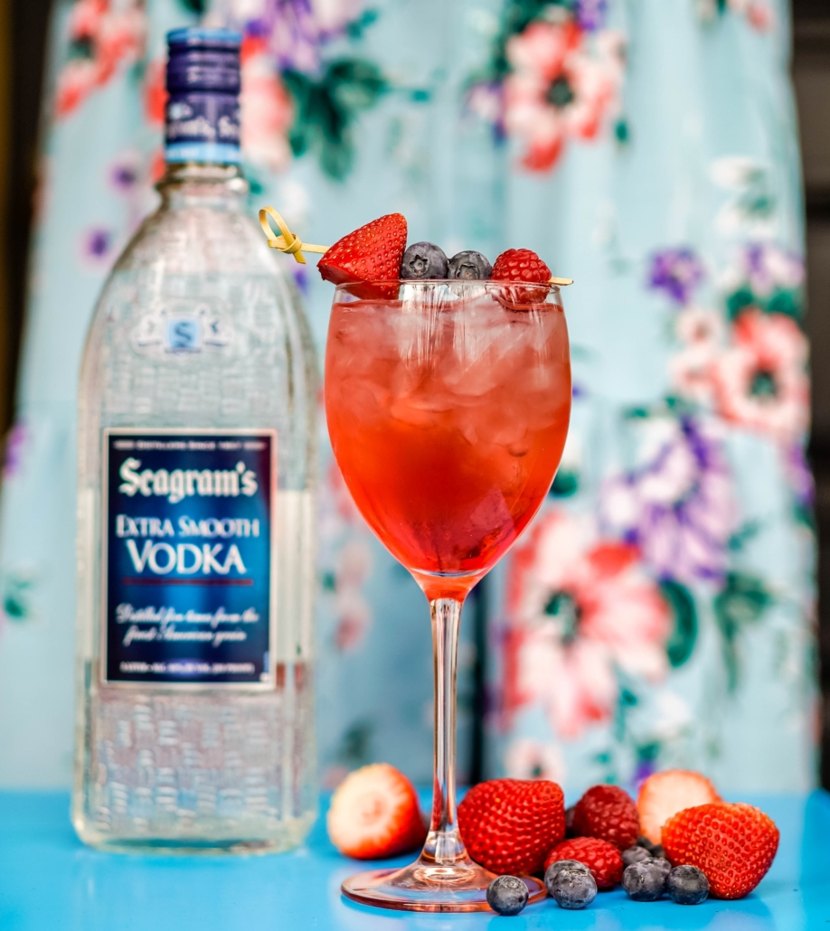 Seagram's Vodka Bucha Berry Merry