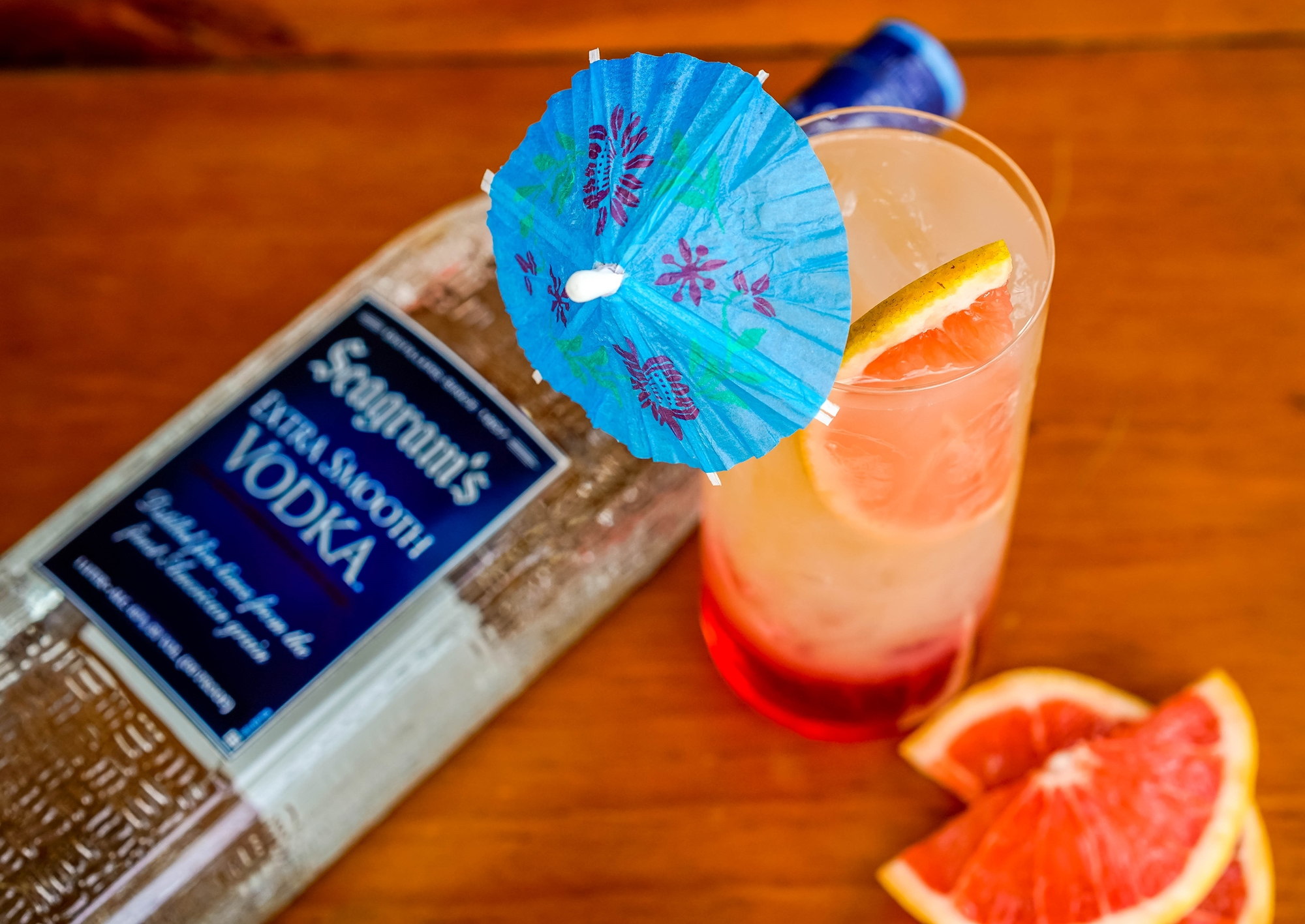 Seagram's Vodka Winter Sunset