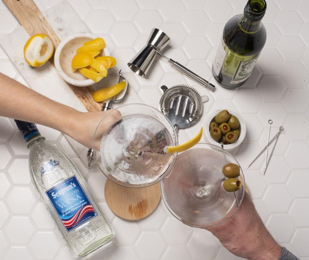 Seagram's Vodka Martini