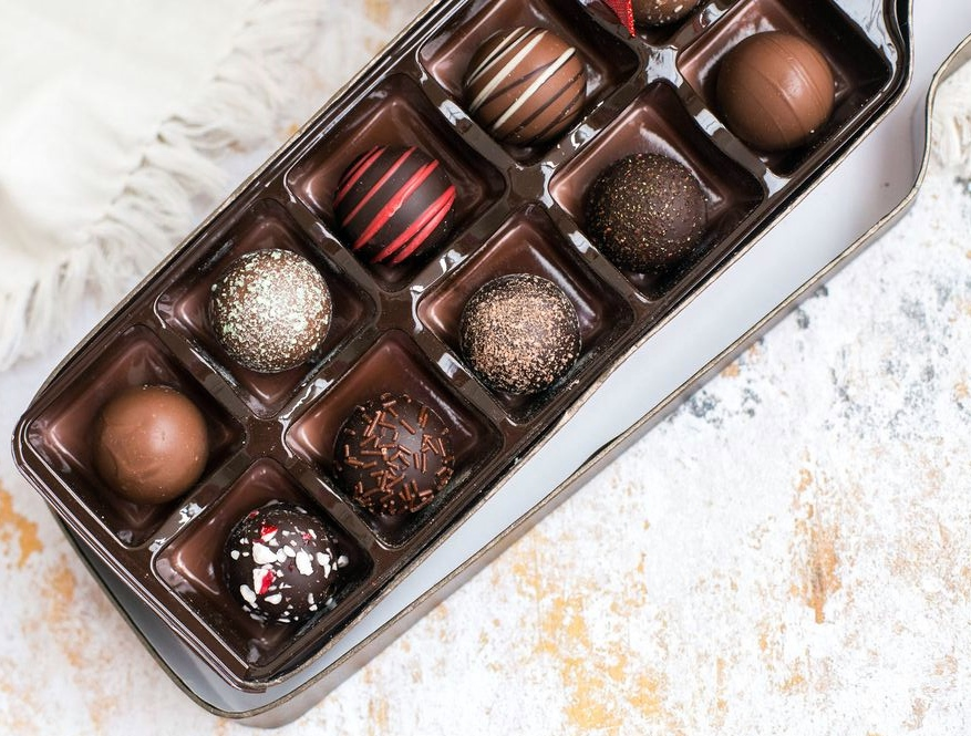 Sugar Plum Wine Truffle Box Assortment