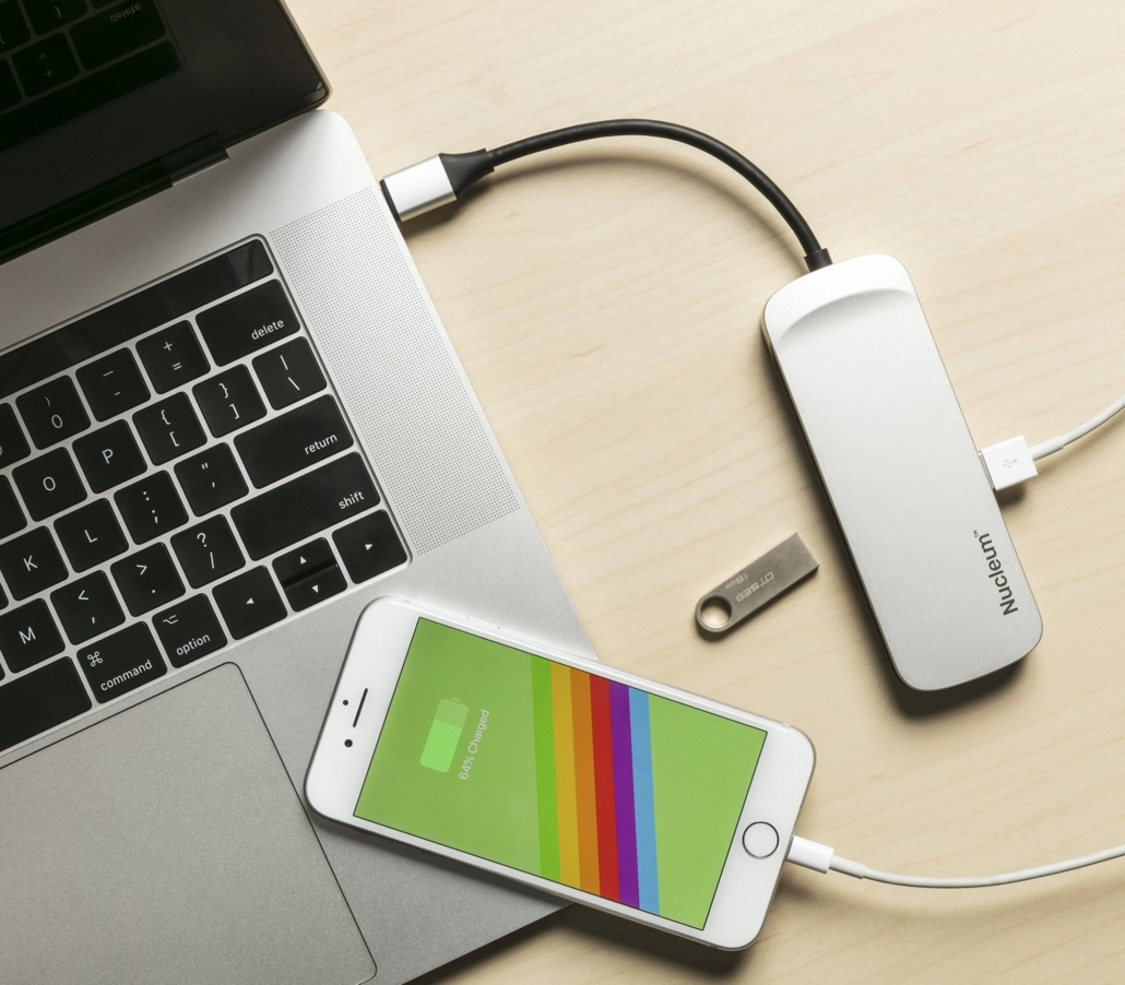 Kingston Technology Nucleum USB-C Hub, $49.99