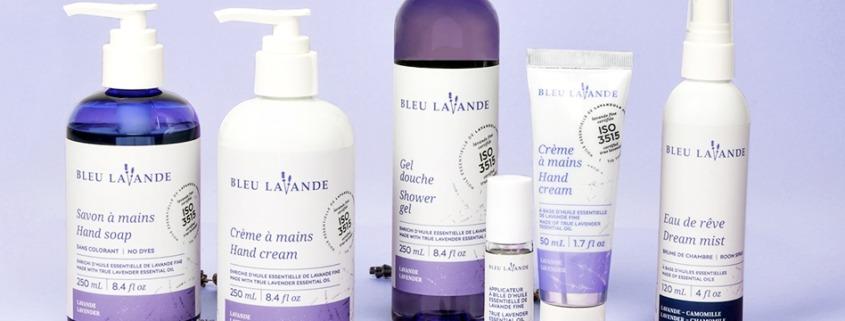 Bleu Lavande: A Pure Lavender Line for At Home Wellness & Selfcare
