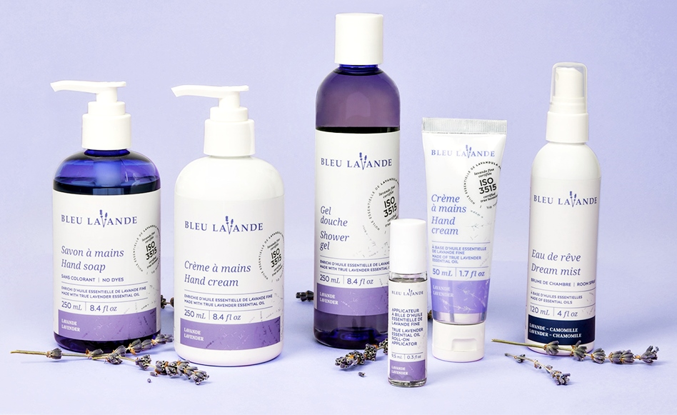 Bleu Lavande: A Pure Lavender Line for At Home Wellness & Selfcare