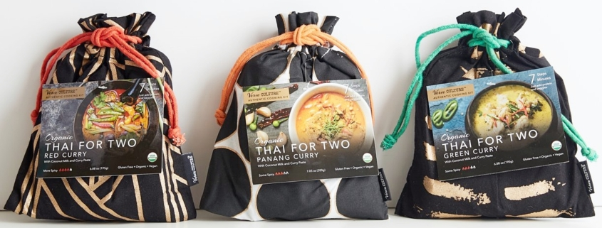 What's for Dinner? Verve Culture Thai for Two Cooking Kits