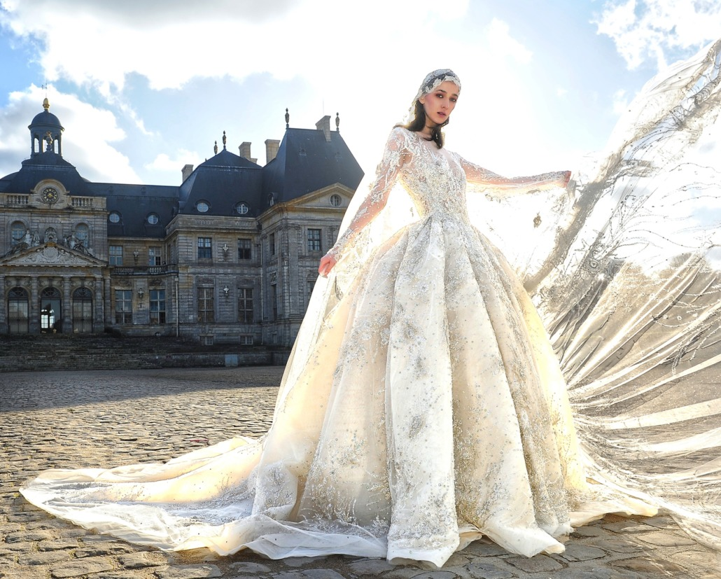 Paris Haute Couture Fashion Week: Ziad Nakad Wedding Dress