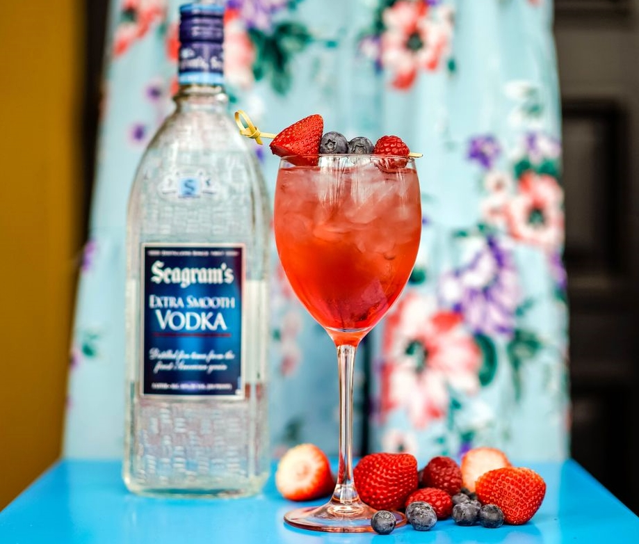 Seagram's Berry In Love Mimosa