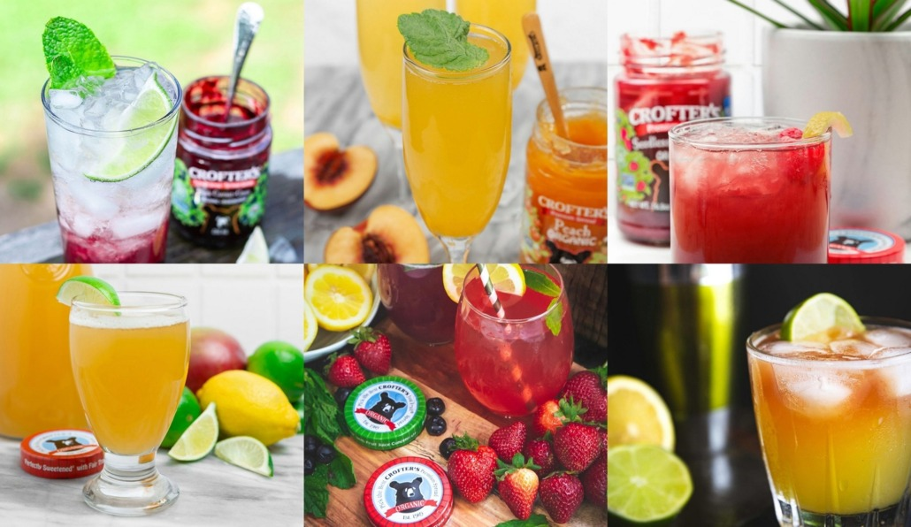 Jam Cocktails: Spring Libations with Crofter's Organic Fruit Spreads