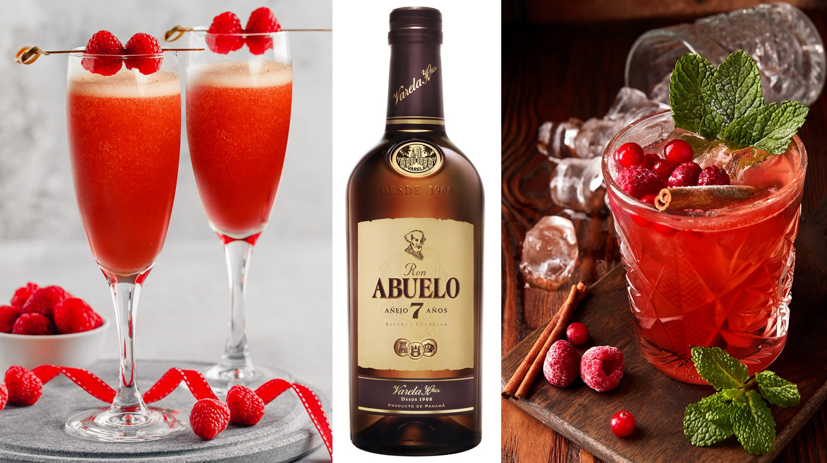 Last Minute Valentine's Day Drink From Ron Abuelo 7 Años