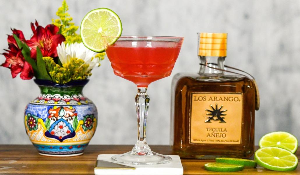 Los Arango Tequila (Dozen) Roses Cocktail