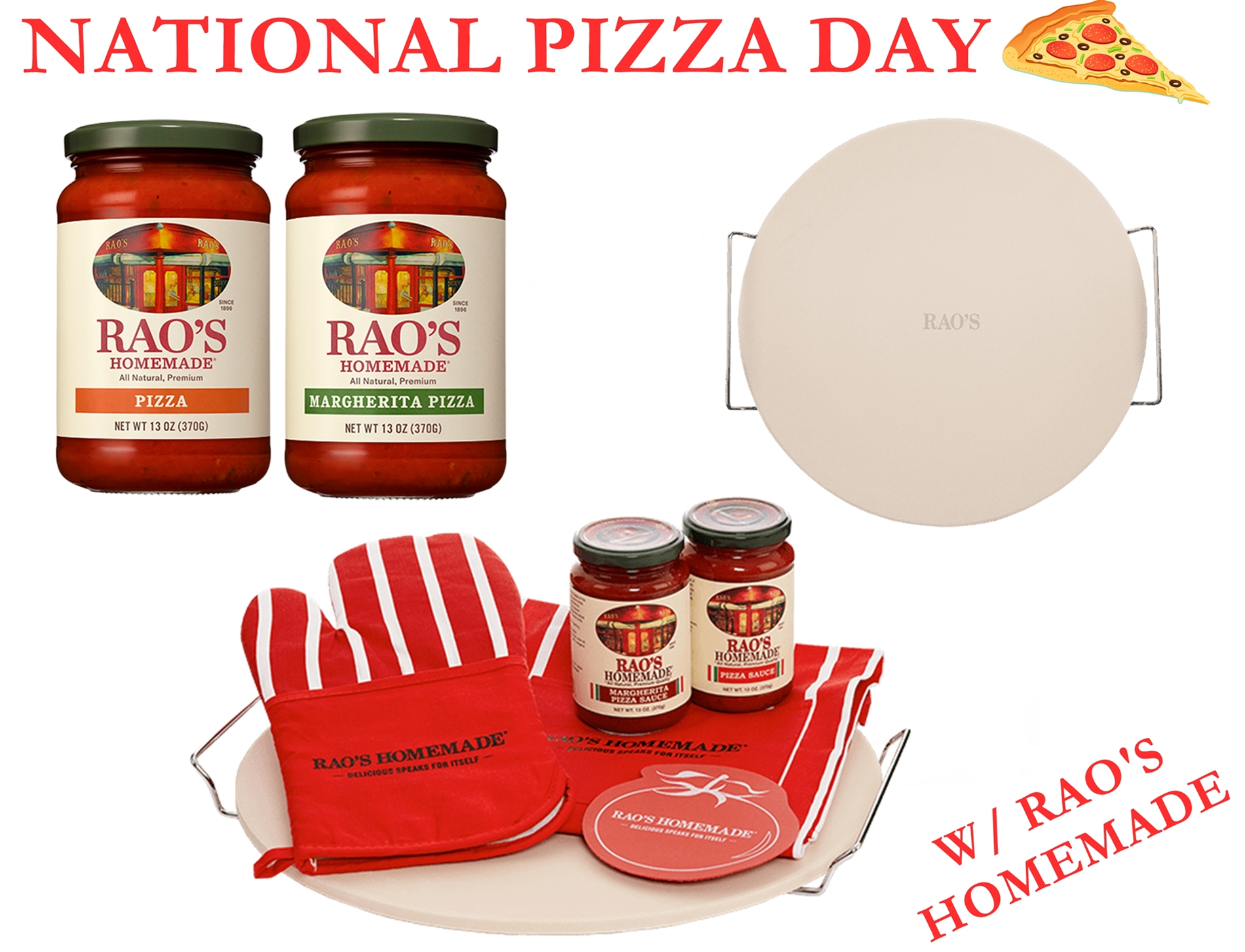 Raise a Slice to National Pizza Day with Rao's Homemade
