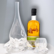 Win Ogden's Own x Deborah Czeresko Glass Decanter + Rocks Glass Set