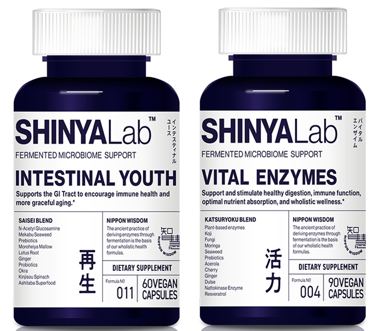 SHINYALab Intestinal Youth and Vital Enzymes Supplements