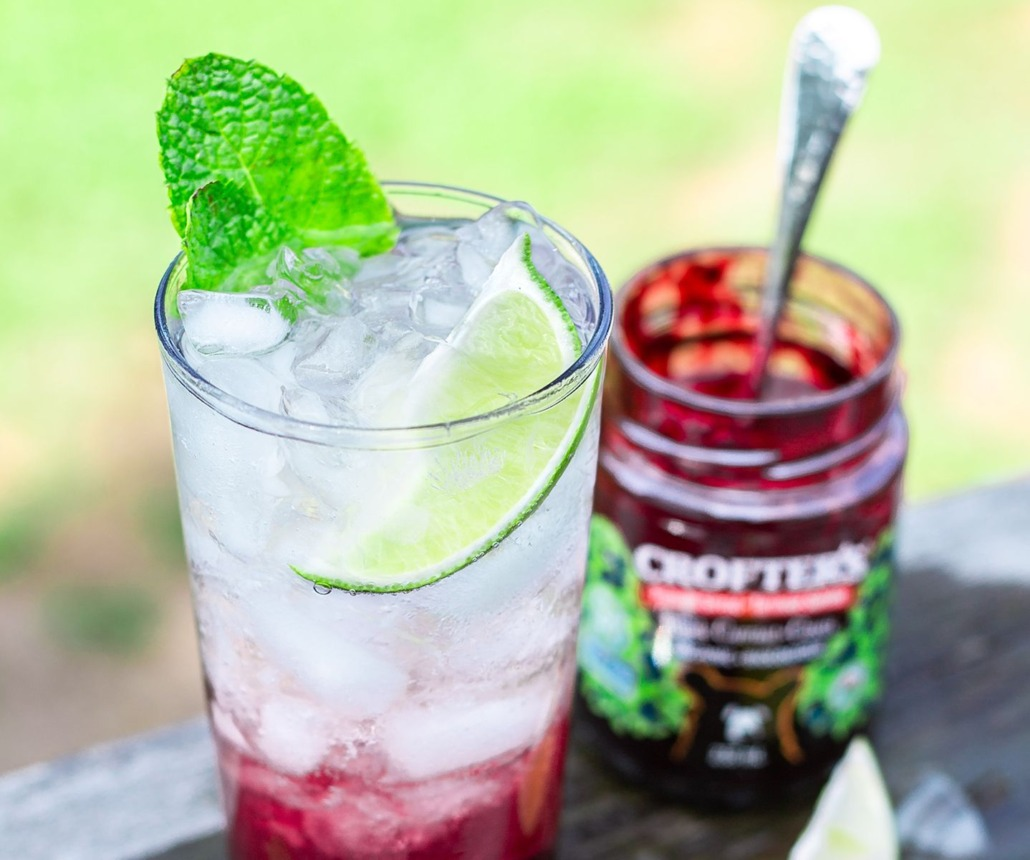 Spring cocktail: Simple Black Currant Mojito