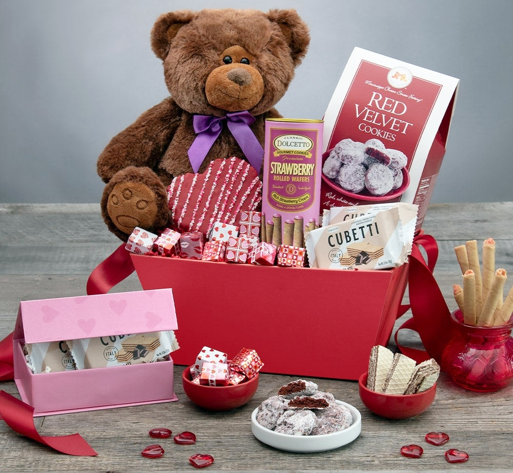 Gourmet Gift Baskets: Give Gourmet Foodie Gifts This Valentine's Day