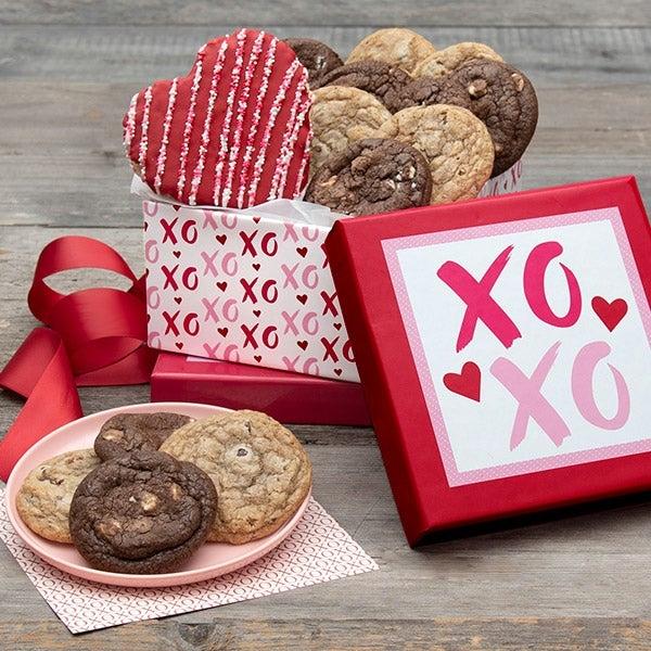 Valentine's Day Baked Goods Gift Box