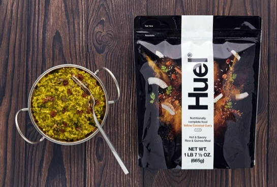 Huel Yellow Coconut Curry Instant Meal