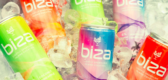 Biza Cocktails: These Tropical Canned-Cocktails are a Vacation in a Can