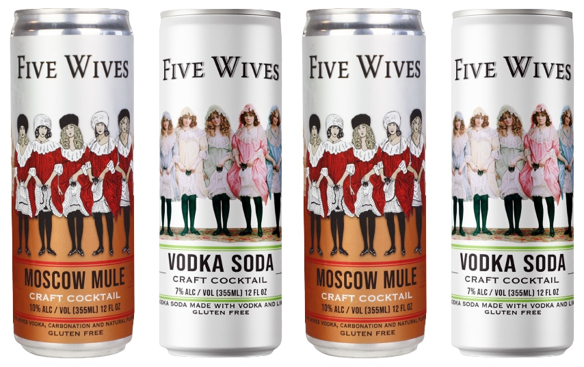 Five Wives Canned Cocktails: Ogden's Own New Canned Drink Offerings