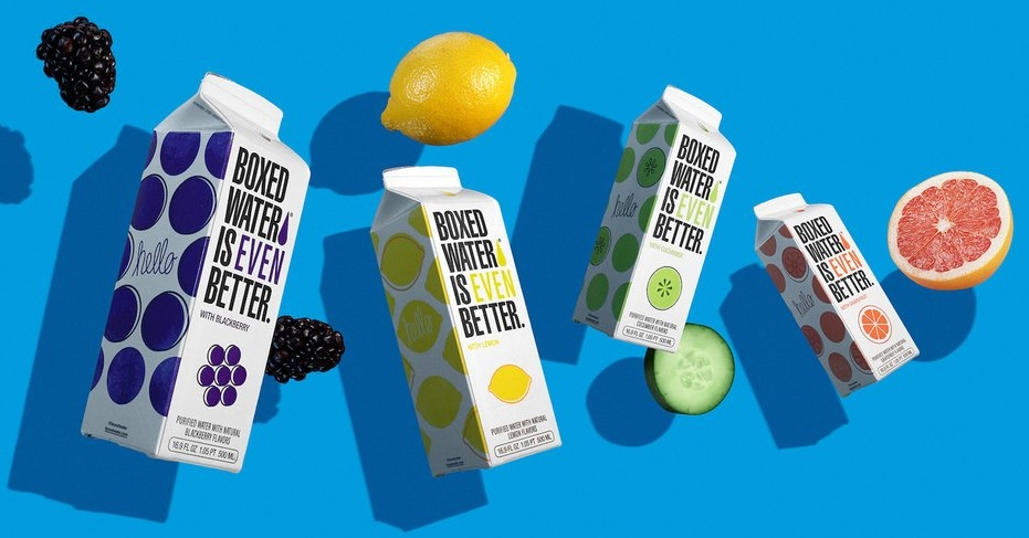 Boxed Water Launches Four New Flavors