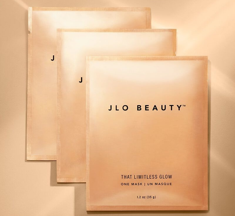 JLo Beauty's That Limitless Glow Sheet Mask Offers Endless Glowing Skin