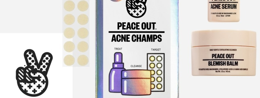 Peace Out Skincare Acne Champs