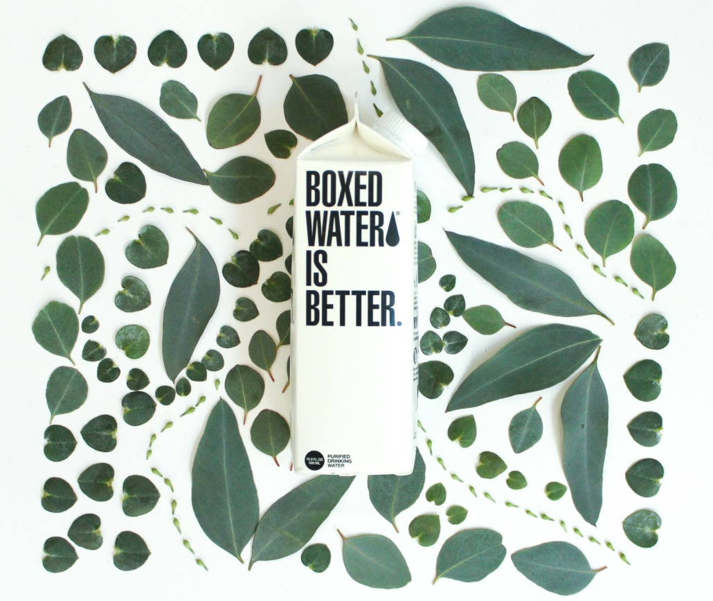 Sustainable Brand Boxed Water: Say Goodbye to Single Use Plastic Water Bottles
