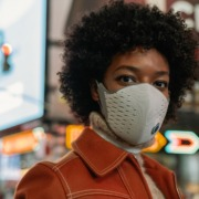 AirPop Active+: The World's First Smart Air Wearable Face Mask