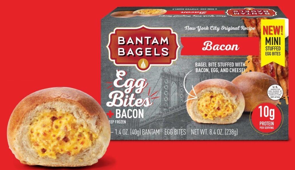 Bantam Bagels Releases Limited Quantity of Bacon Egg Bites