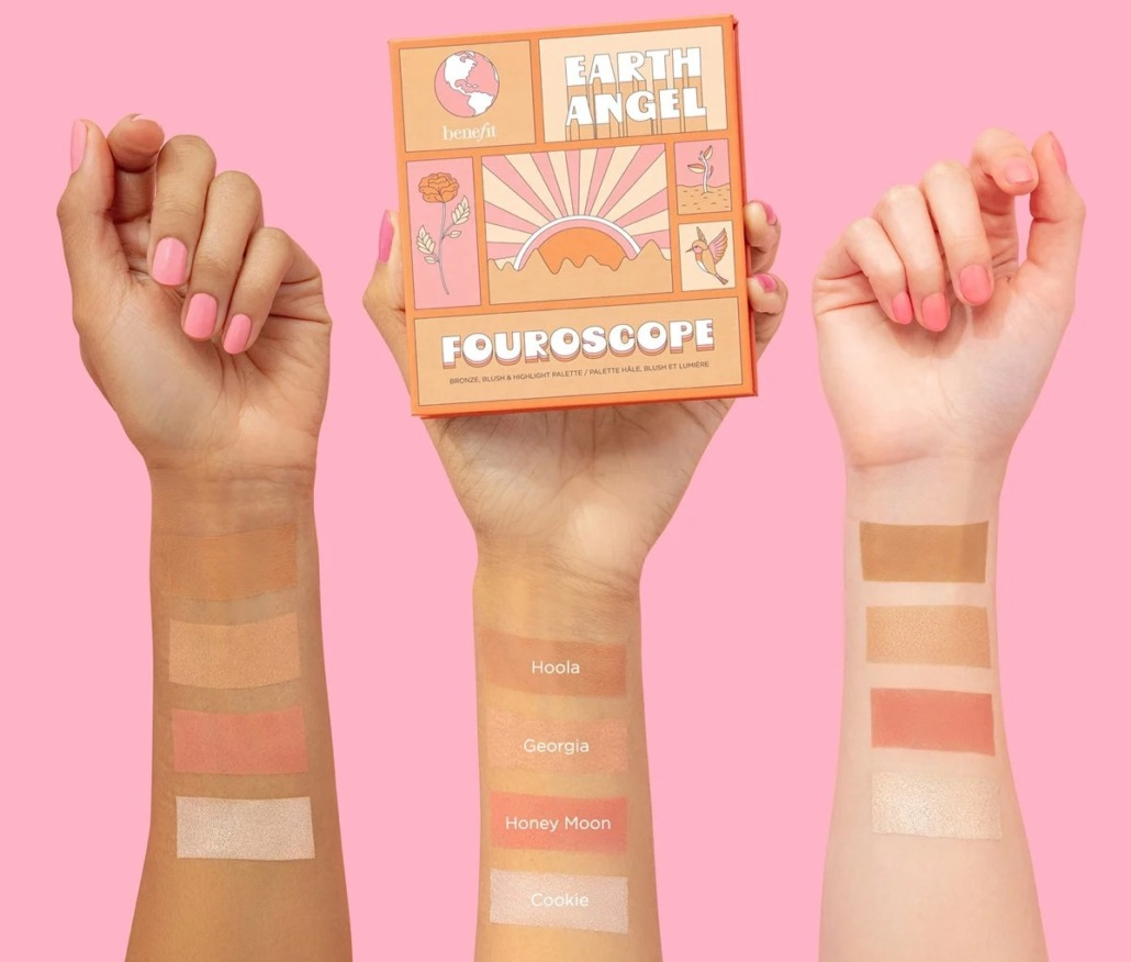 Benefit Cosmetics Introduces NEW Fouroscope Cheek Palettes
