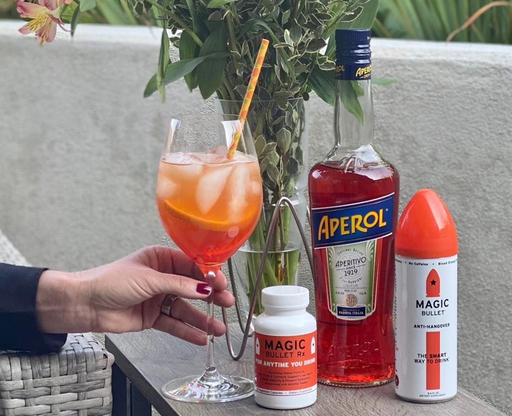 Bullet Spritzer Cocktail