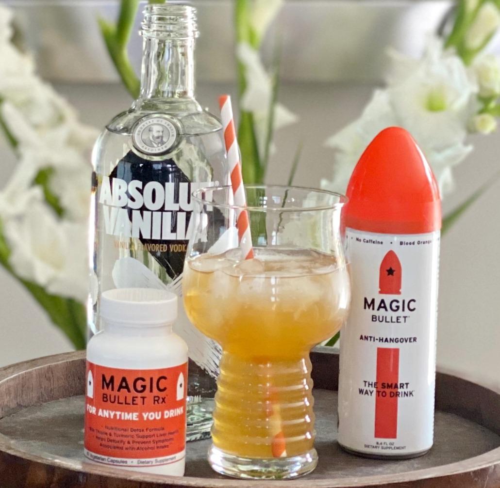 Vanilla Bullet Cocktail