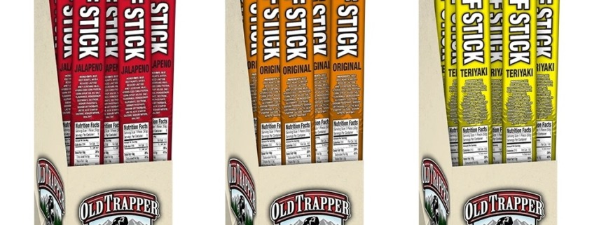 Old Trapper Launches Individually-Wrapped, Deli Style Beef Sticks