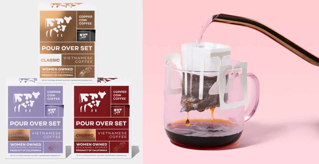 Copper Cow Coffee Vietnamese Pour Over Coffee