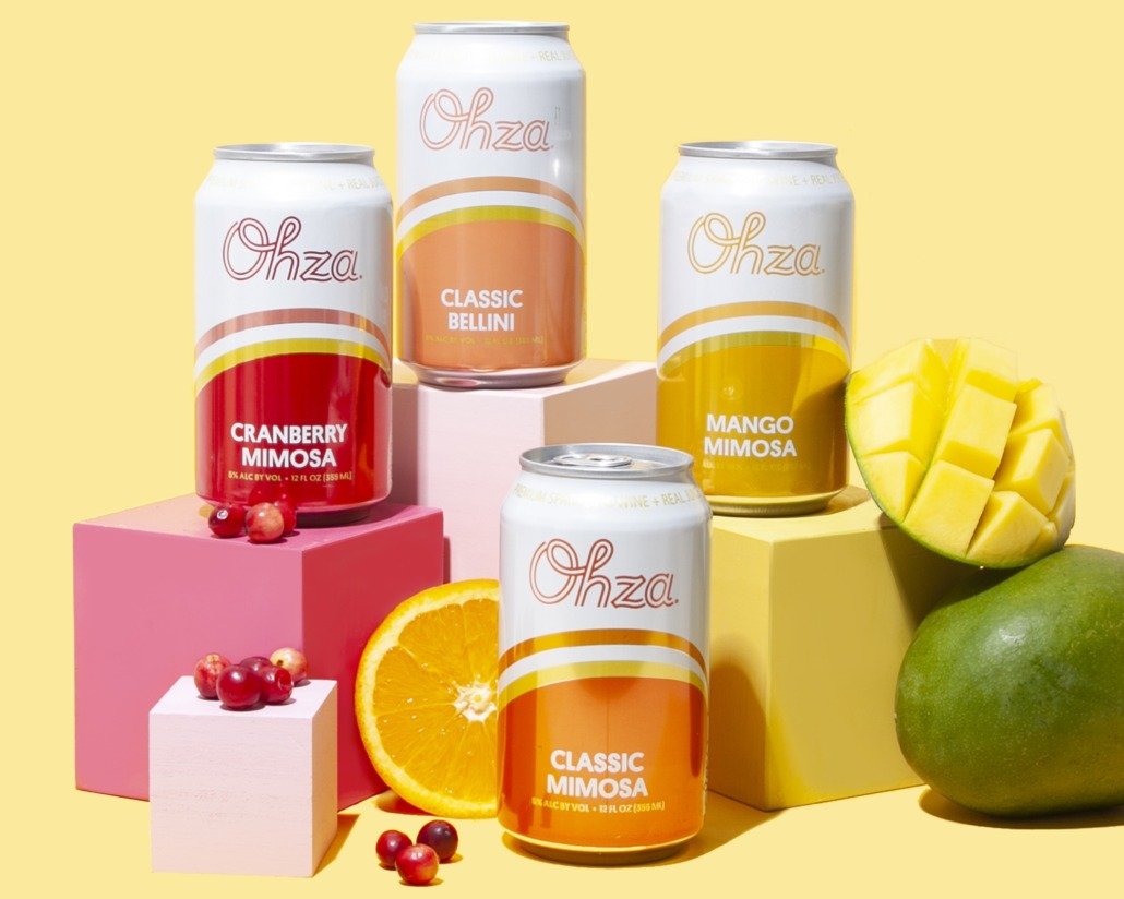 Ohza Celebrates National Mimosa Day with Golden Ticket Contest