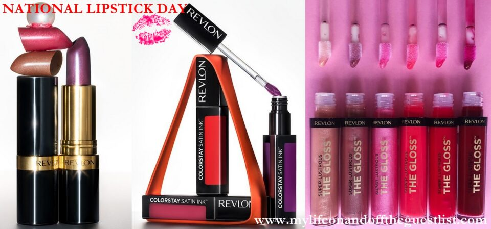Celebrate National Lipstick Day With Revlon Lip Color Favorites