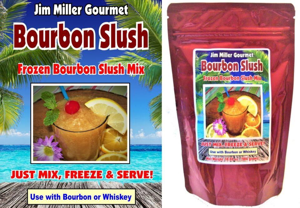 Jim Miller Gourmet's Bourbon Slush: Ready-To-Make Frozen Drink Mix