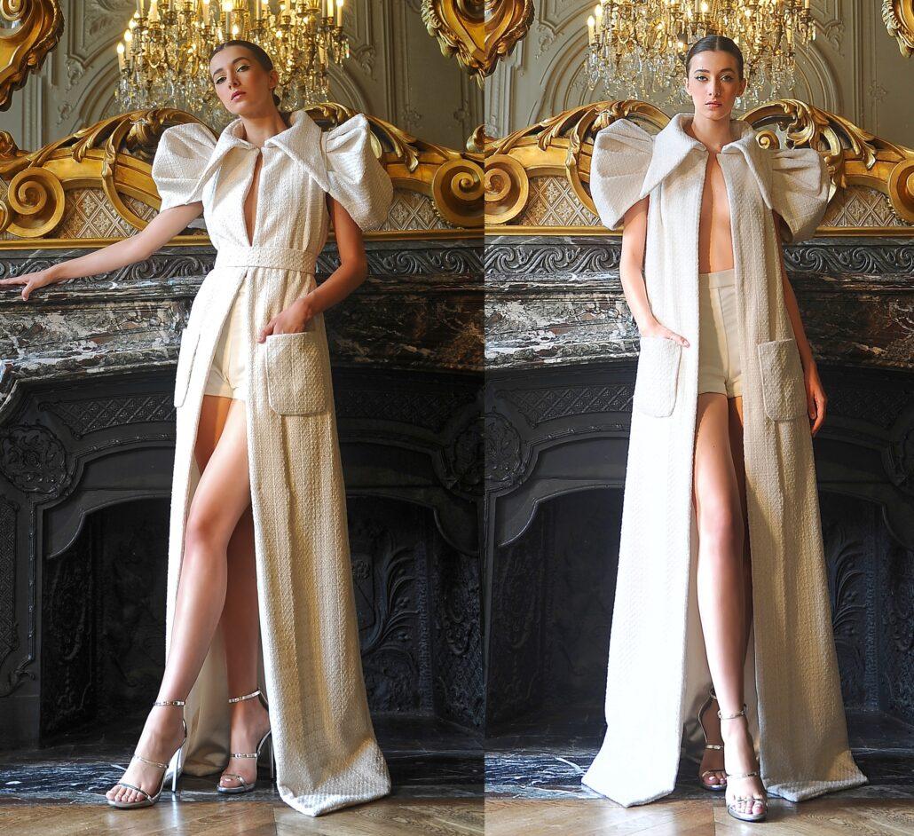 Paris Haute Couture Fashion Week: Najib Alioua Fall/Winter 2021-2022