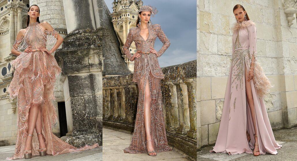 Paris Haute Couture Fashion Week: Ziad Nakad Fall/Winter 2021-2022