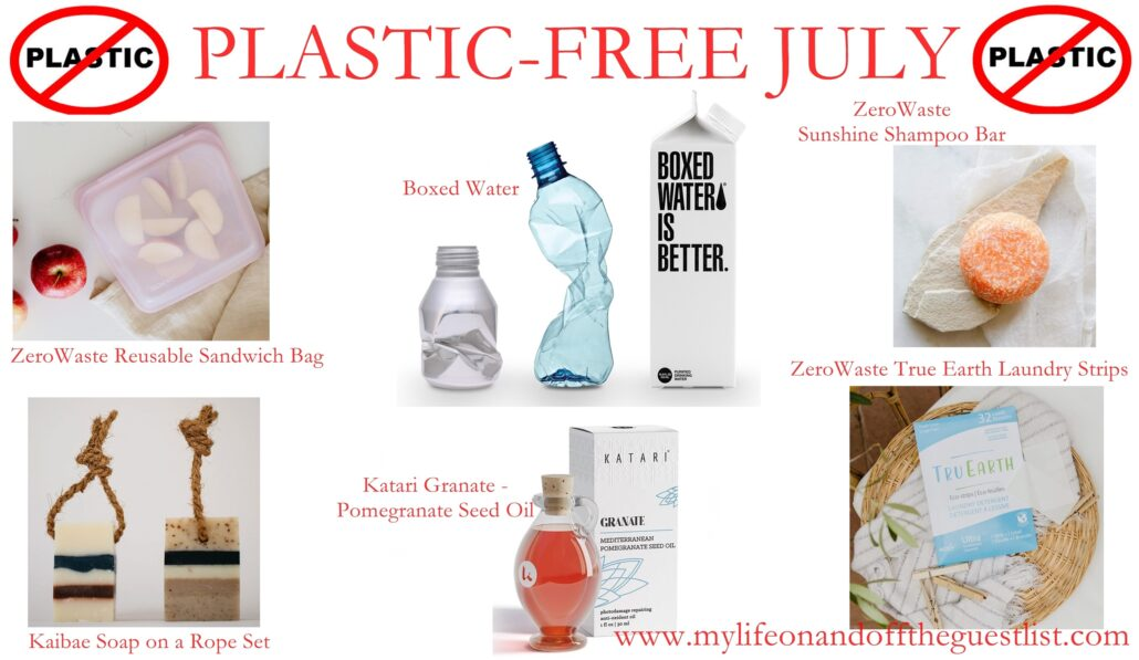 Say No to Plastic: Celebrate Plastic-Free July All Month Long