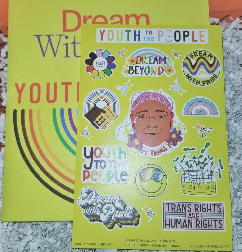 Youth To The People Superberry Hydrate+Glow Pride Edition Dream Mask