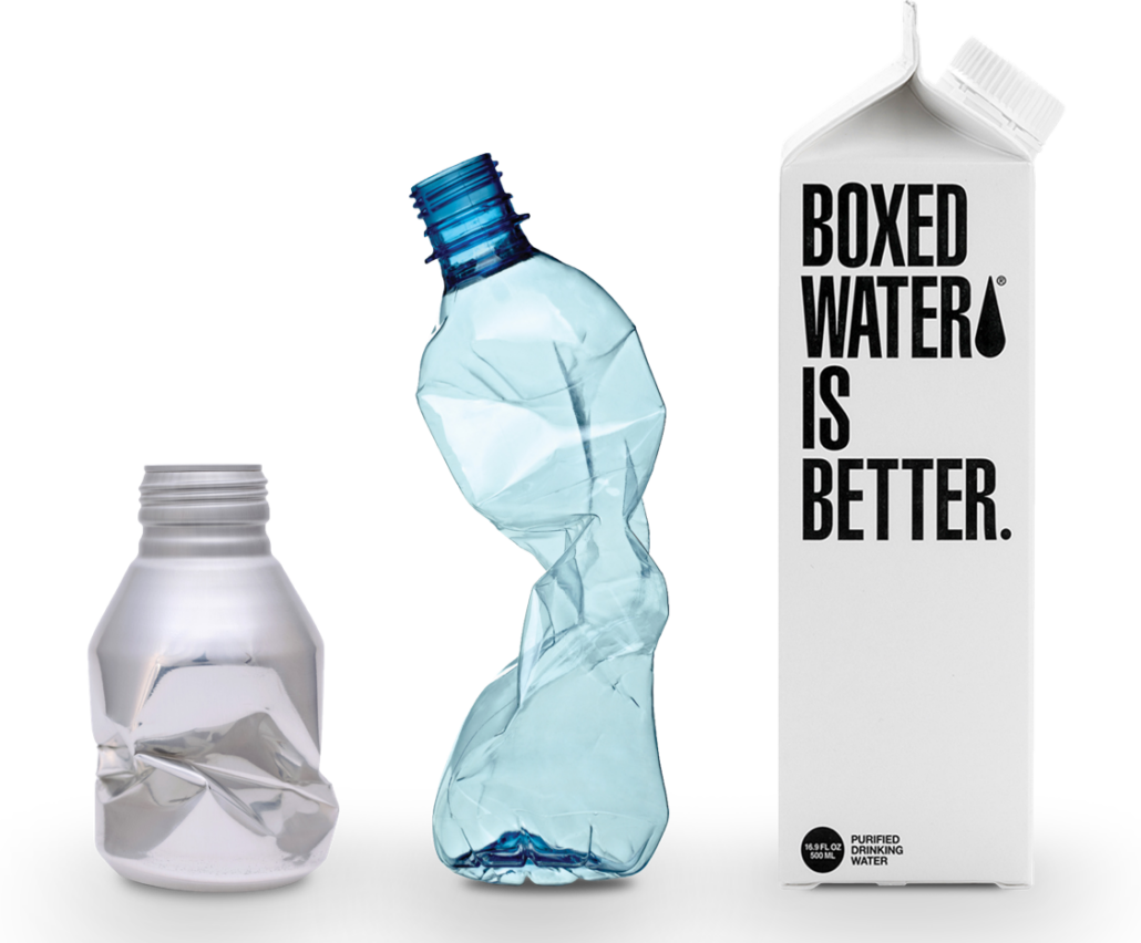 Boxed Water: Celebrate Plastic-Free July All Month Long