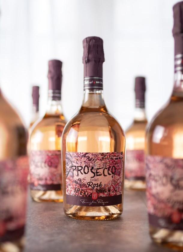 Pasqua Winery Prosecco Rosé DOC Extra Dry Millesimato
