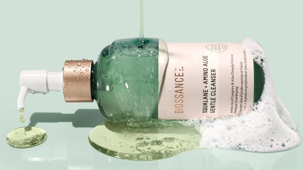 NEW in Beauty: Biossance Squalane + Amino Aloe Gentle Cleanser