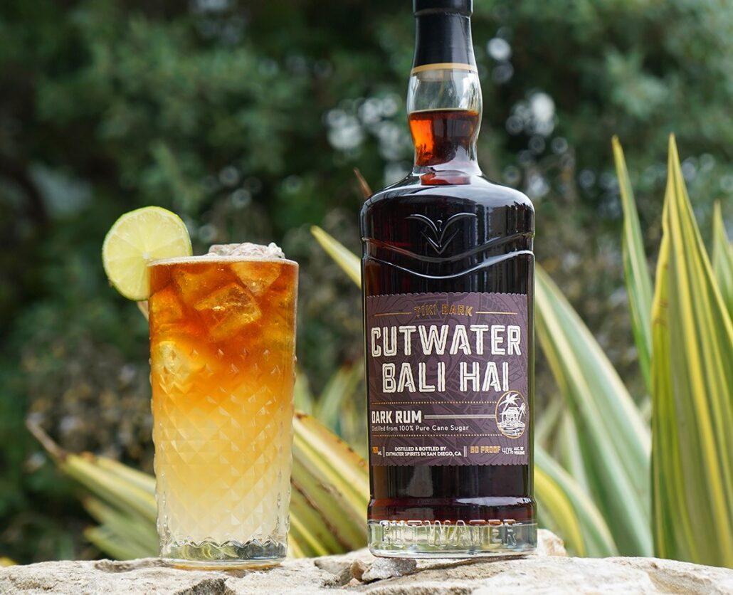Bali Hai Tiki Gold Rum Dark n Stormy Cocktail