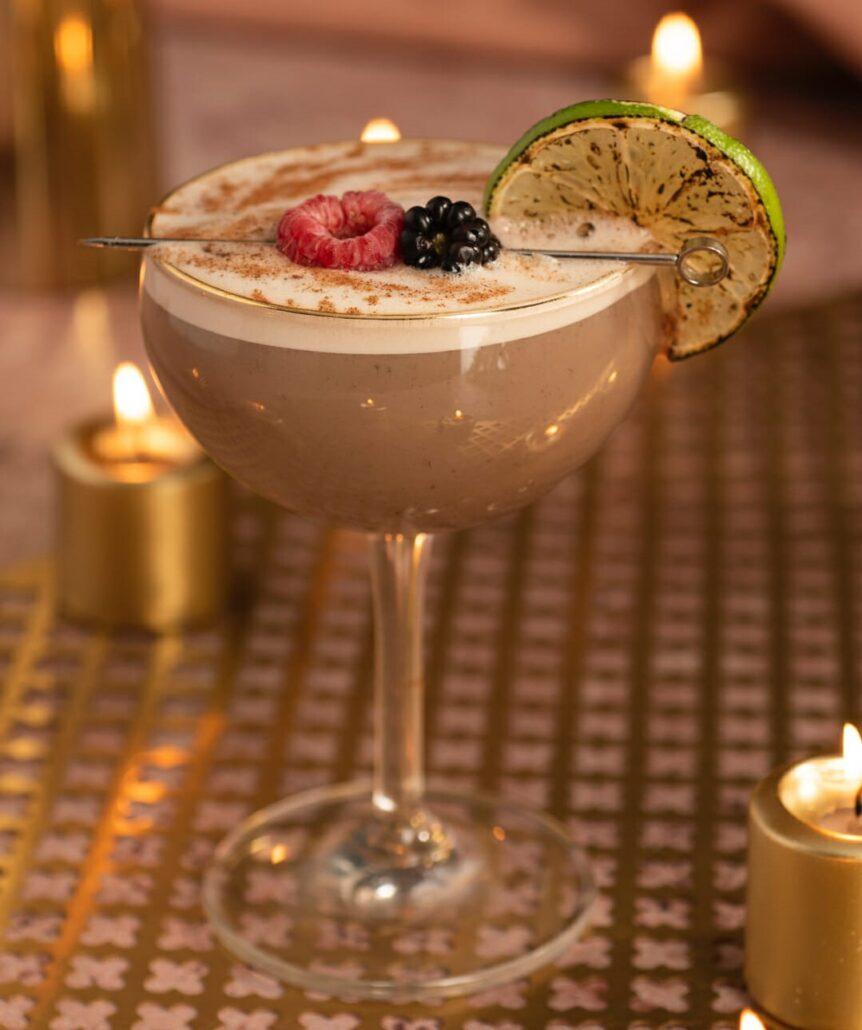 zaya rum sip & sail cocktail