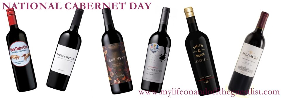 A Toast to International Cabernet Day With American Cabernet Sauvignons