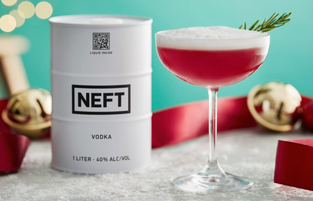 NEFT Vodka: Fall and Holiday Vodka Cocktails To Look Forward To