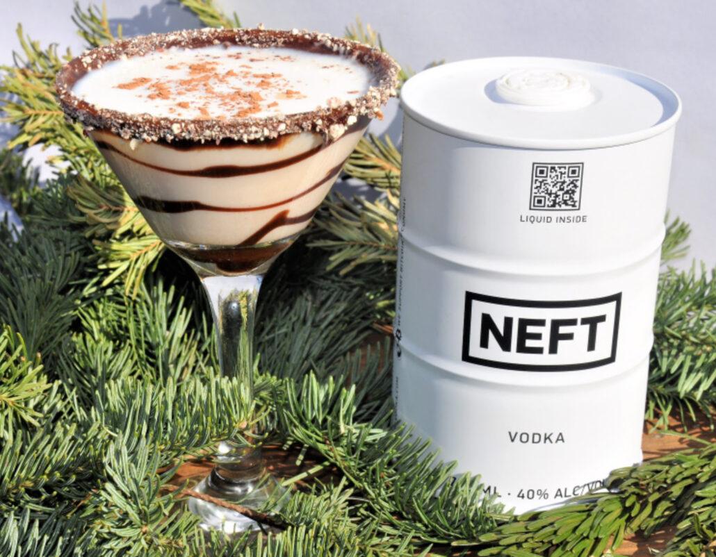 Snowy Day Vodka Cocktail