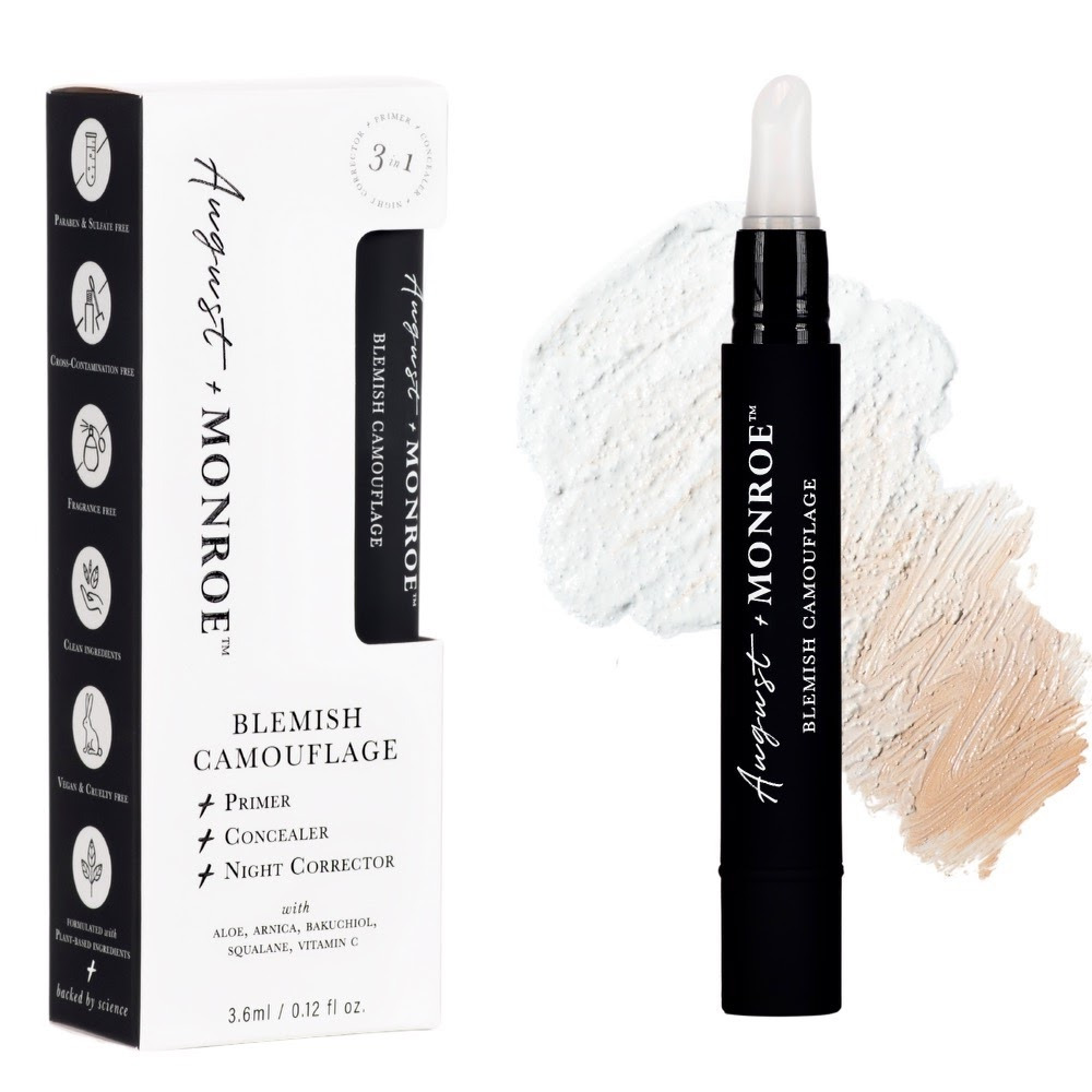 August + Monroe 3-in-1 Blemish Camouflage